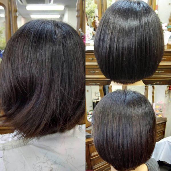 髪質改善と縮毛矯正でツヤツヤさらさらの髪に